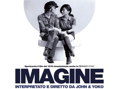 John Lennon - Yoko Ono - Imagine - Foto Locandina
