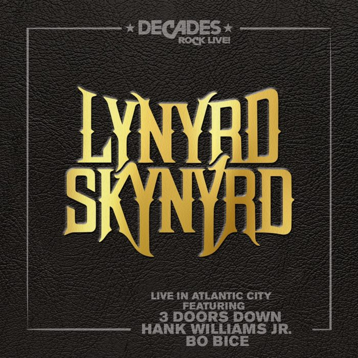 Lynyrd Skynyrd - Live In Atlantic City - Album Cover
