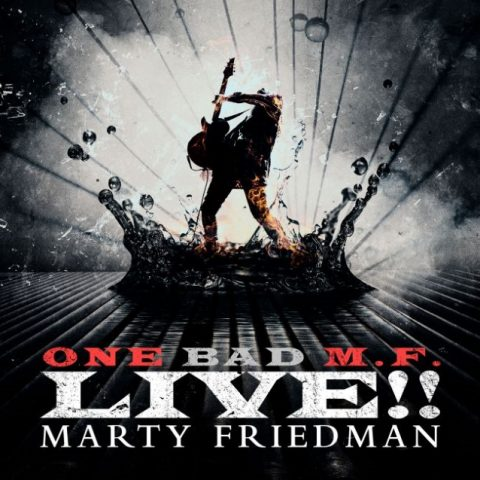 Mart Friedman - One Bad - M - F - Live - Album Cover