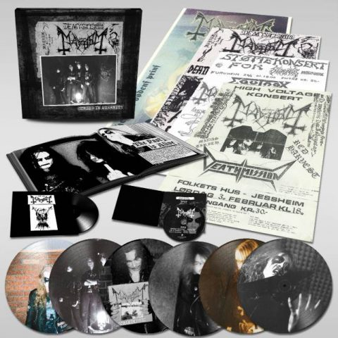 Mayhem - Cursed In Eternity - Box Set Cover