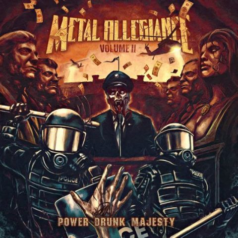 Metal Allegiance - Volume 2 Power Drunk Majesty - Album Cover