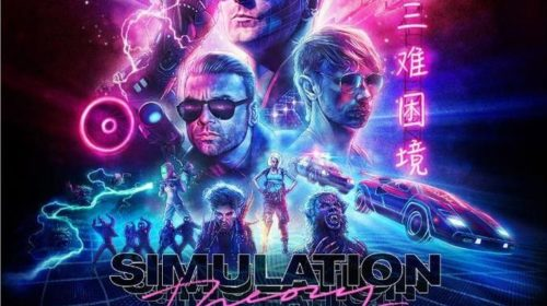 Muse - Simulation Theory - Album Cover