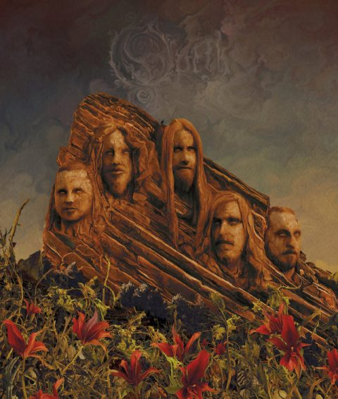 Opeth - Garden Of The Titans Live At Red Rocks Amphitheater - DVD Cover