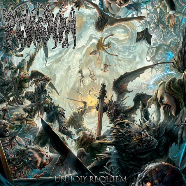 Pyrexia - Unholy Requiem - Album Cover