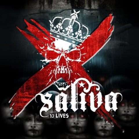 Saliva - 10 Lives - Album Cover