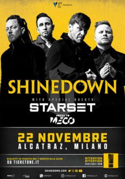 Shinedown + guests @ Milano @ Alcatraz