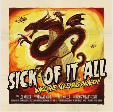 Sick Of It All - Wake The Sleeping Dragon - Album Cover