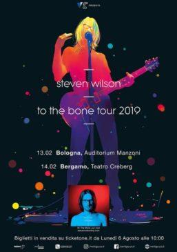 Steven Wilson - 2 date a febbraio 2019