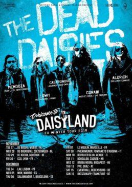 The Dead Daisies - 2 date in Italia dicembre 2018