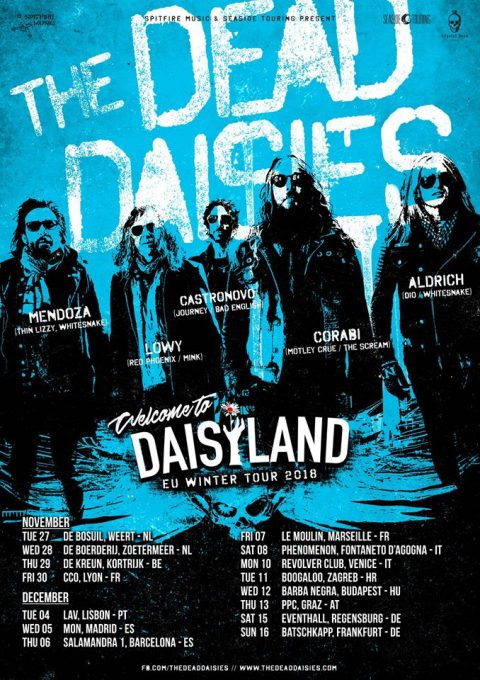 The Dead Daisies - Daisyland EU Winter Tour 2018 - Promo