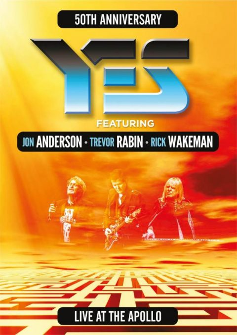 Yes - Yes 50Th Anniversary Live At The Apollo - Album Cover