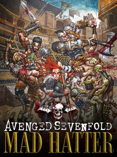 Avenged Sevenfold - Mad Hatter - Single Cover