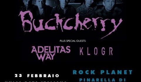 Buckcerry - Adelitas Way - Klogr - Rock Planet - Tour 2019 - Promo