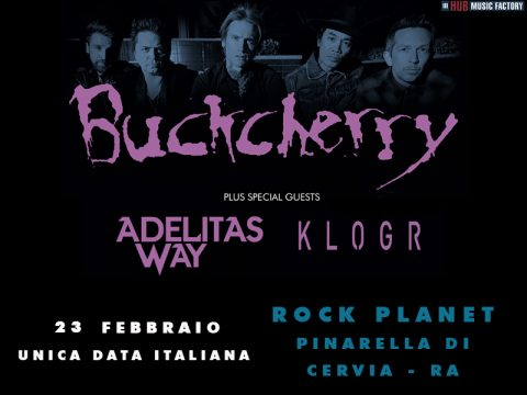 Buckcherry - Adelitas Way - Klogr - Rock Planet - Tour 2019 - Promo