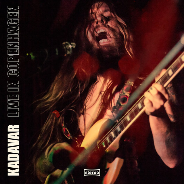 Kadavar - Live In Copenhagen - Album Cover