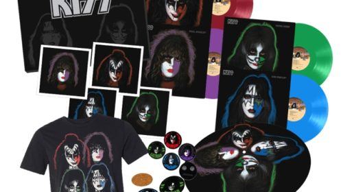 Kiss - The Solo Albums 40Th Anniversary Collection - Boxset Cover