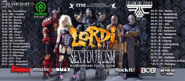Lordi - Sextourcism European Tour 2018 - Promo