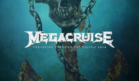 Megadeth - Megacruise - Thrashing Through The Pacific 2019 - Promo