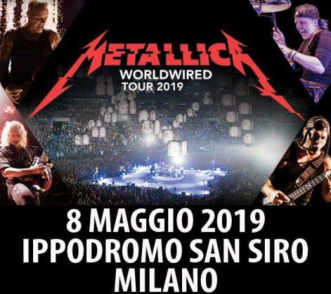 Metallica - Ippodromo Snai - Worldwiredtour 2019 - Promo