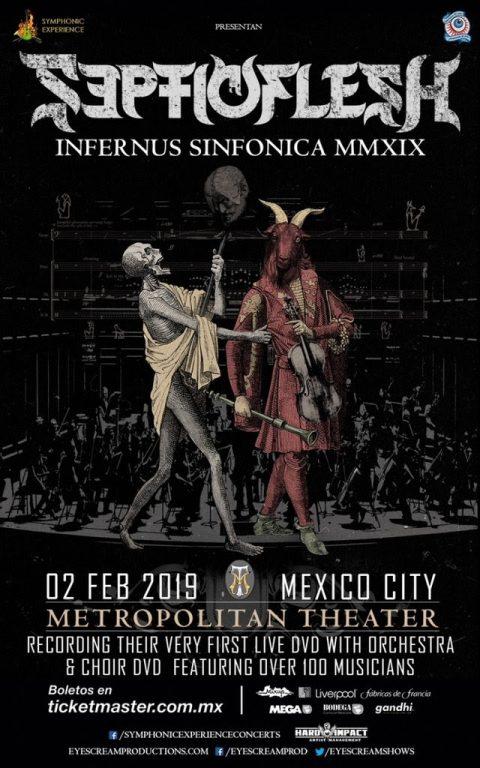 Septicflesh - Infernus Sinfonica - MMXIX - Metropolitan Theater - Live 2019 - Promo