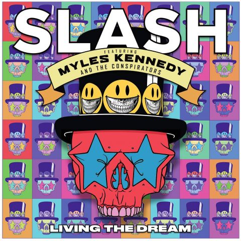 Slash - Ft - Myles Kennedy And The Conspirators - Living The Dream - Album Cover