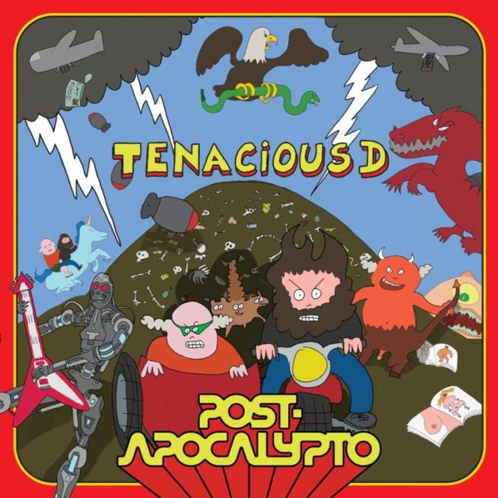 Tenacious D - Post Apocalypto - Album Cover