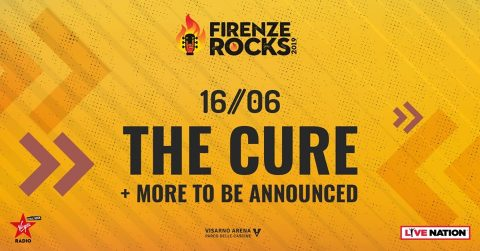 The Cure - Firenze Rocks 2019 - Promo