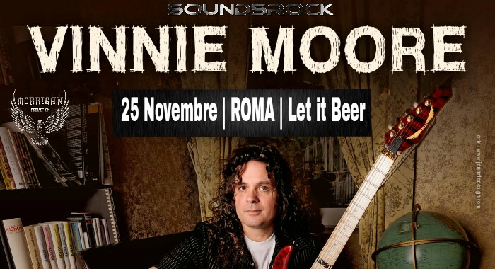 Vinnie Moore - Let It Beer - Tour 2018 - Promo