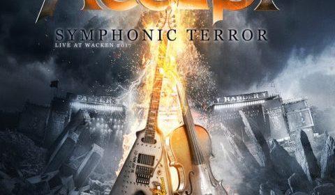 Accept - Symphonic Terror Live At Wacken 2017 - Album Cover