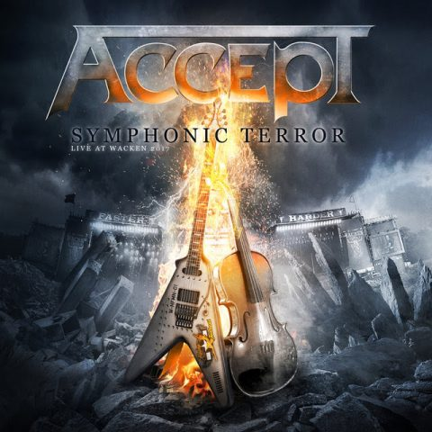Accept - Symphonic Terror Live At Wacken 2017 - Album Cover