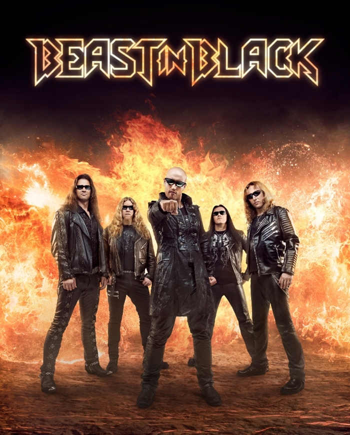 Beast In Black - From Hell With Love - Album Cover