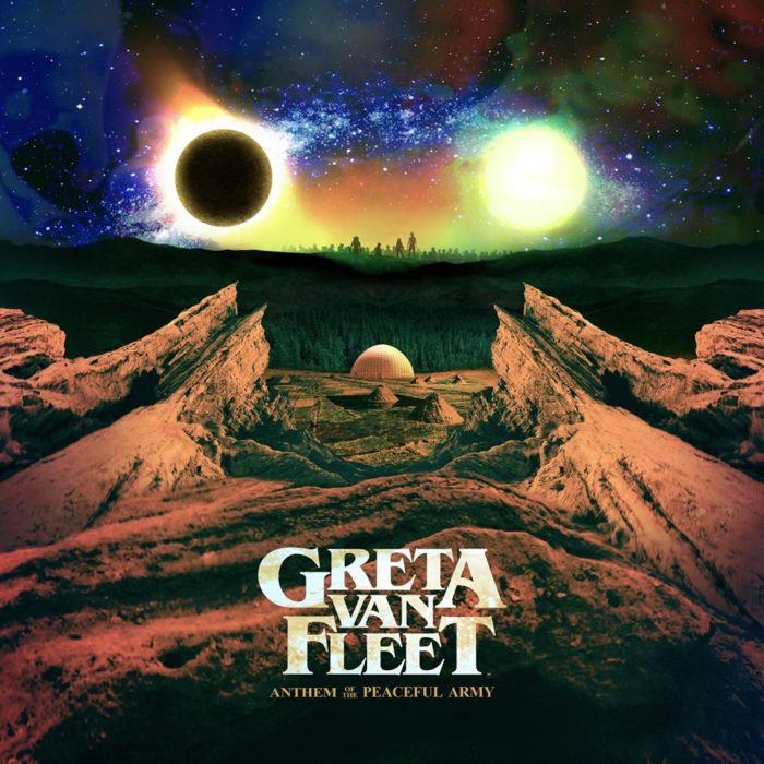 Greta Van Fleet - Anthem Of The Peaceful Army - Album Cover