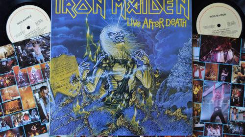 """14 ottobre 1985 - esce """"Live After Death"""" degli Iron Maiden"""