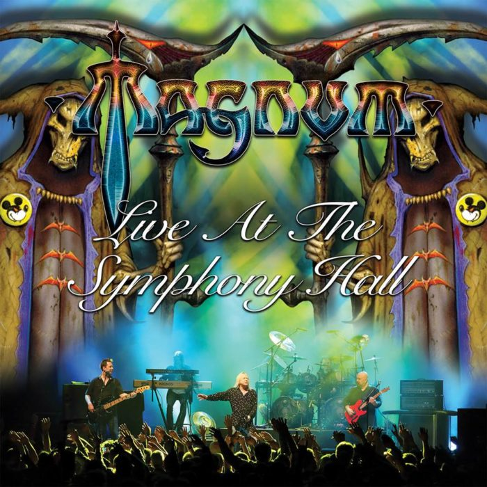 Magnum Live At The Symphony All - Album Cover