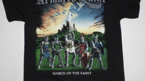 """9 ottobre 1984 - esce """"March of the Saint"""" degli Armored Saint"""