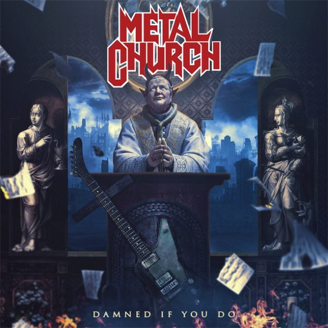 Metal Church - Damned If You Do - Album Cover