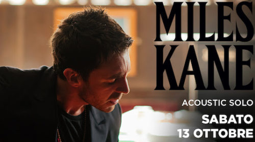 Miles Kane - Acoustic Solo - Live 2018 - Promo