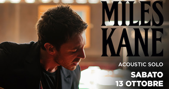 Miles Kane - Acoustic Solo - Live 2018 - Promo