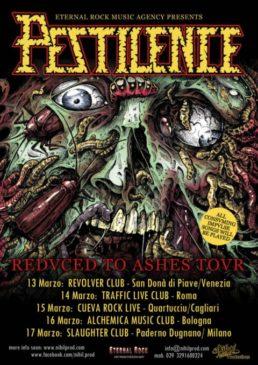 Pestilence - 4 date in Italia a marzo 2019