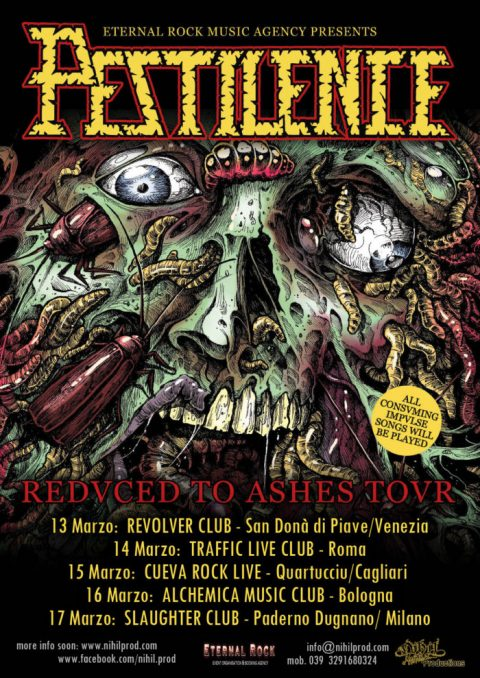 Pestilence - Reduced To Ashes - Tour 2019 - Promo