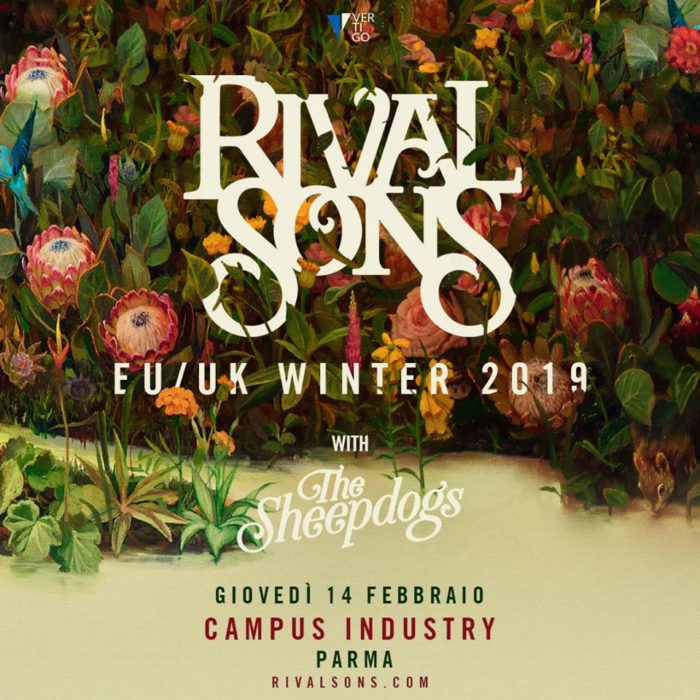 Rival Sons - The Sheepdogs - EU UK Winter Tour 2019 - Promo
