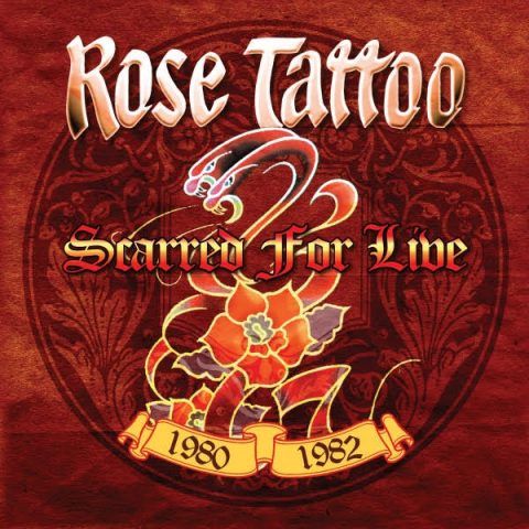 Rose Tattoo - Scarred For Live - Boxset Cover