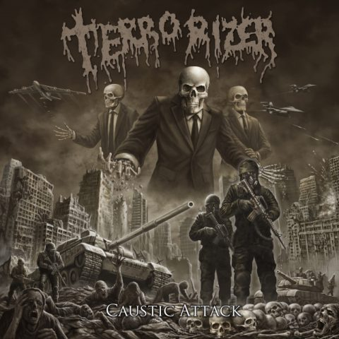 Terrorizer - Caustic Attack - Album Cover