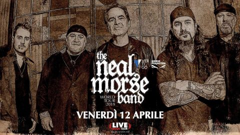 The Neal Morse Band - Live Music Club - World Tour 2019 - Promo