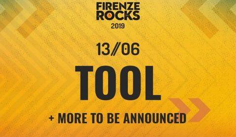 Tool - Firenze Rocks Festival 2019 - Promo