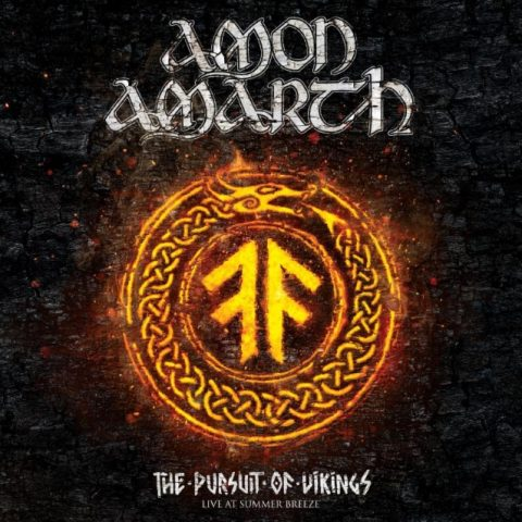 Amon Amarth - The Pursuit Of Vikings 25 Years In The Eye Of The Storm - DVD Cover