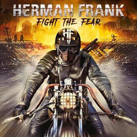 Herman Frank - Fight The Fear - Album Cover