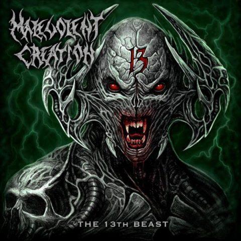 Malevolent Creation - The 13Th Beast - Album Cover