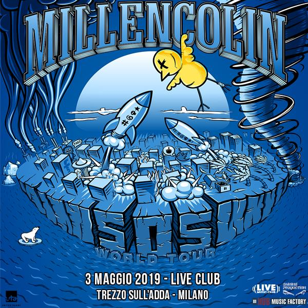 Millencolin - Live Club - Tour 2019 - Promo