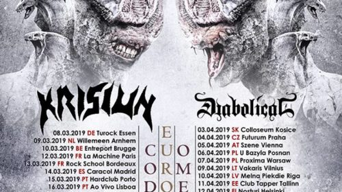 Septicflesh - Krisiun - Diabolical - Xaon - Tour 2019 - Promo